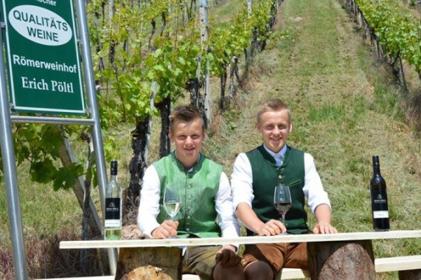 Römerweinhof Familie Pöltl | Familie